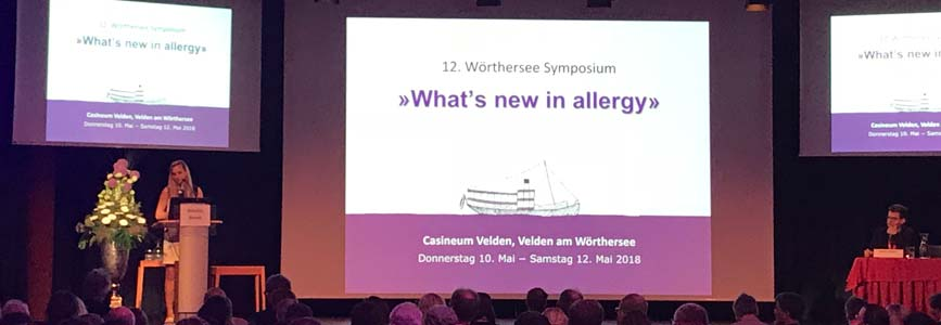 "12. Wörthersee Symposium: ""What's new in allergy?"""
